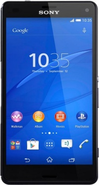 Sony D5803 Xperia Z3 compact Black