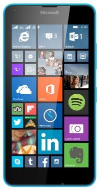 640 LTE DS Lumia Cyan