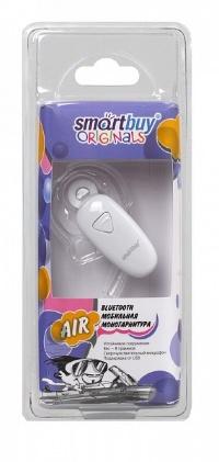 Мобильная Bluetooth-гарнитура SmartBuy® AIR белая