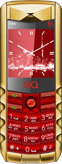 BQ Vitre 1406 Красный+Золотой