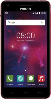 Philips V377 (Black+Red)