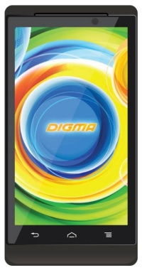 "Смартфон Digma Linx 4.5 PT452E черный моноблок 3G 4.5"" And WiFi BT GPS Intel"