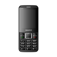Maxvi K10 black