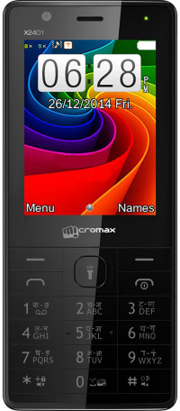 Micromax X2401 Black