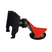 Кронштейн для крепления телефонов и смартфонов 58-80 мм НА ТОРПЕДУ шарнир (INTEGO AX-0230 (красный)
