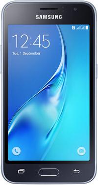 "SAMSUNG J120F Galaxy J1(2016) Duos 4.5"" LTE 8Gb Black"