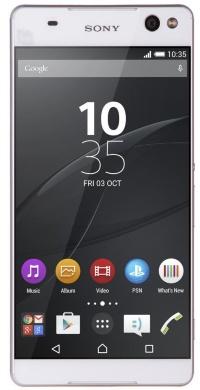 E5533 (Xperia C5 Ultra dual)  LTE  White