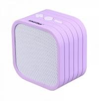 Портативная Bluetooth-колонка Smartbuy® TEDDY бел/фиолет