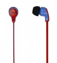 Внутриканальные стерео наушники SmartBuy® FANATIK красный/синий