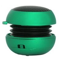 Портативная колонка SmartBuy® BUG зеленая встроенный аккумулятор резонатор