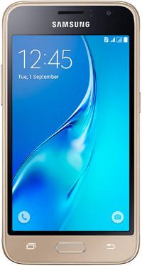 "SAMSUNG J120F Galaxy J1(2016) Duos 4.5"" LTE 8Gb Gold"