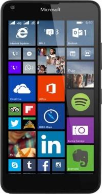 640 LTE DS Lumia Black