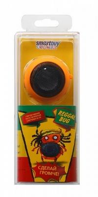 Портативная колонка SmartBuy® BUG оранжевая встроенный аккумулятор резонатор