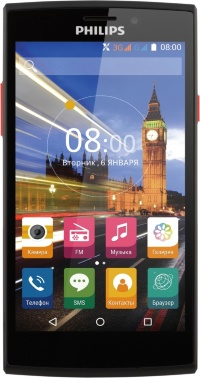 Philips S337 (Black+Red)