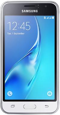 "SAMSUNG J120F Galaxy J1(2016) Duos 4.5"" LTE 8Gb White"