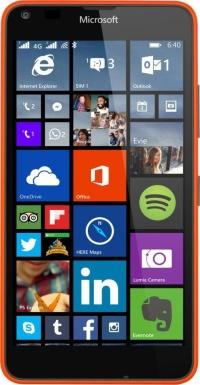 640 LTE DS Lumia Orange