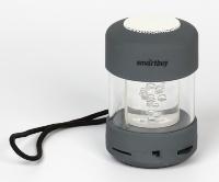 Портативная колонка SmartBuy® CANDY PUNK, MP3-плеер, FM-радио, серая