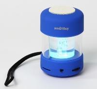 Портативная колонка SmartBuy® CANDY PUNK, MP3-плеер, FM-радио, синяя