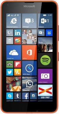 640 DS MICROSOFT LUMIA ORANGE