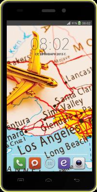BQ Los Angeles 5006 Желтый