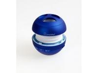 Портативная колонка SmartBuy® WASP синяя MP3 плеер чтение USB/MicroSD  аккумулятор резонатор
