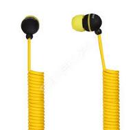Внутриканальные наушники SmartBuy® U.F.O. растягивающийся кабель желт