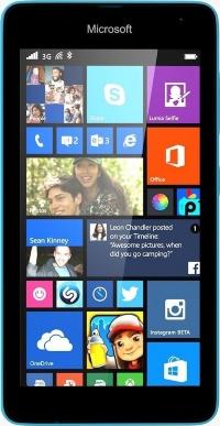 Nokia MicroSoft Lumia 640  LTE  Cyan