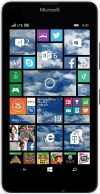Nokia MicroSoft Lumia 640  LTE  White