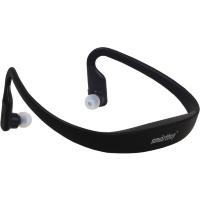 Мобильная стерео Bluetooth-гарнитура SmartBuy® SPORT PRO, MP3, FM, черная