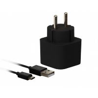 Сетевое ЗУ SmartBuy® VOLT Combo, 3.1 A, 2хUSB + кабель MicroUSB, черн (SBP-2050)