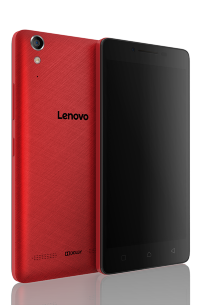 Смартфон LENOVO A6010 2SIM 8GB LTE RED