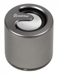 Портативная Bluetooth-колонка SmartBuy® DRUM 1.5Вт, микрофон, алюминиевый корпус