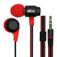 Наушники RITMIX RH-185 Black+Red