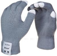 Bluetoots перчатки QUMO TALKING GLOVES grey L.