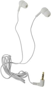 Внутриканальные стерео наушники SmartBuy® EXTREME резиновое покрытие белые