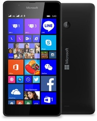 540 DS Lumia BLACK