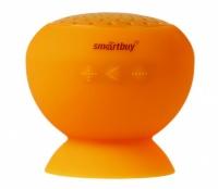 Портативная колонка SmartBuy® BUBBLE силиконовое покрытие Bluetooth оранжевая