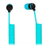 Внутриканальные наушники SmartBuy® U.F.O. растягивающийся кабель синие