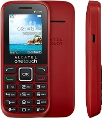 Alcatel OT 1042D (2 SIM) (Deep Red)