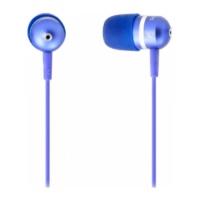 Внутриканальные наушники SmartBuy® URBAN TREND метал. 3 пары вкладышей синие