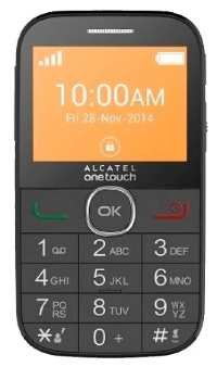 Alcatel OT 2004C (Black)