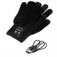 Bluetoots перчатки QUMO TALKING GLOVES black L.